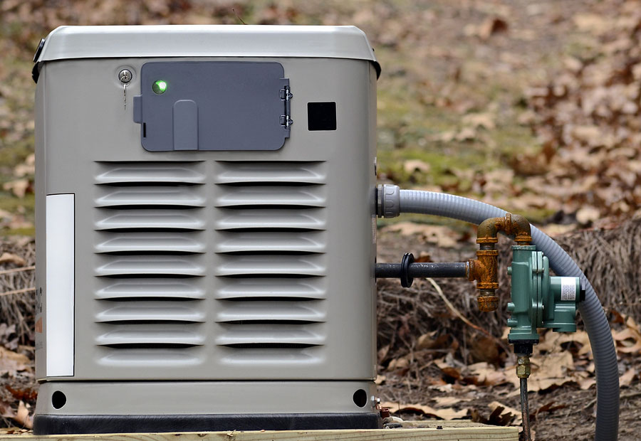 home backup generator for use during power outages